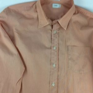 J. Crew Mens Long Sleeve Button-Front